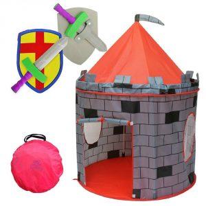 Kiddey Knight's Castle Kids Play Tent -Indoor & Outdoor Children's Playhouse
