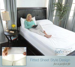 SafeRest Queen Size Premium Hypoallergenic Mattress Protector
