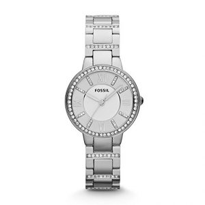 Fossil ES3282 Three-Hand Stainless Steel Watch Women