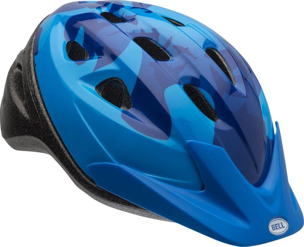 Bell Rally Blue Bike Helmet for Kids