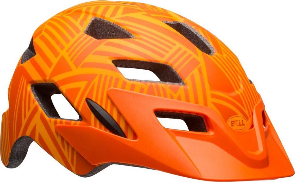 Bell Side Track Orange Bike Helmet for Kids