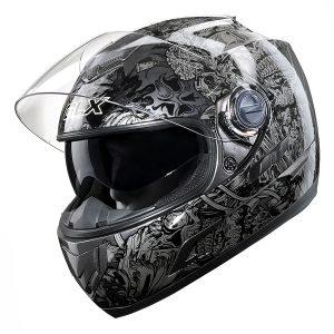 GLX Full Face Street Motorcycle Helmet