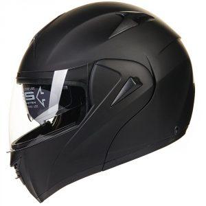 ILM Dual Visor Motorcycle Full Face Helmet