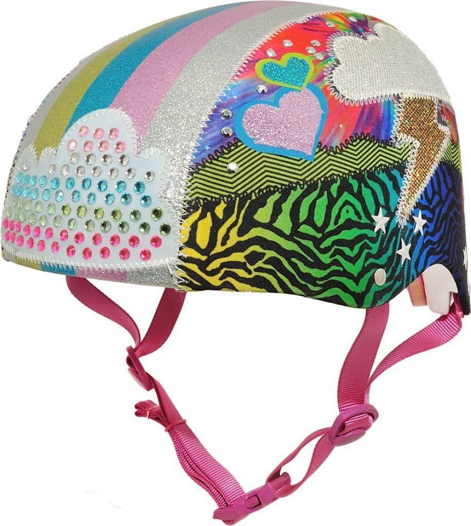 Raskullz Girls Love Sparkles Bike Helmet.