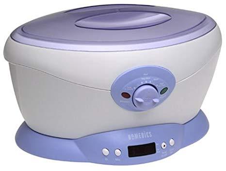 1. HoMedics PAR-120 ParaSpa Select Paraffin Bath: