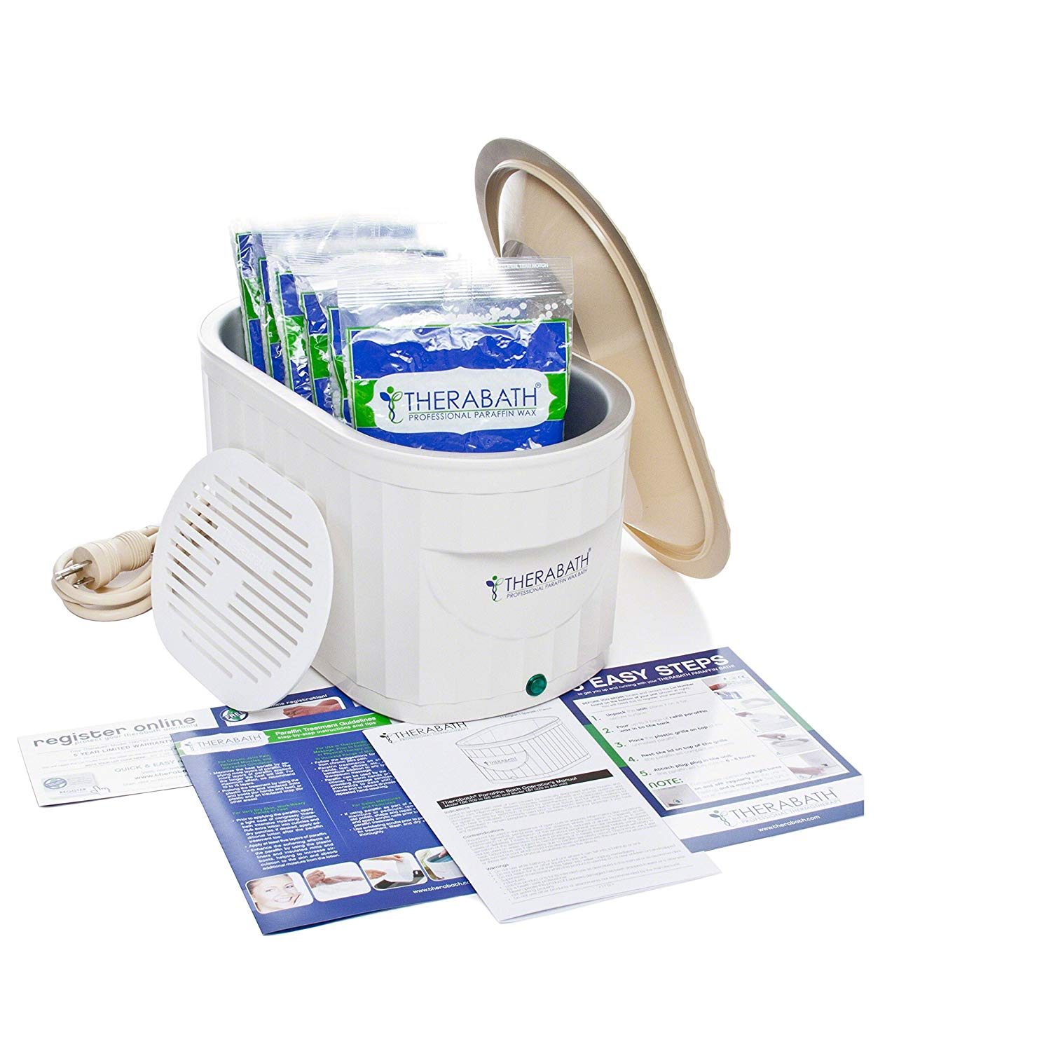 2. Therabath Professional Thermotherapy Paraffin Bath: