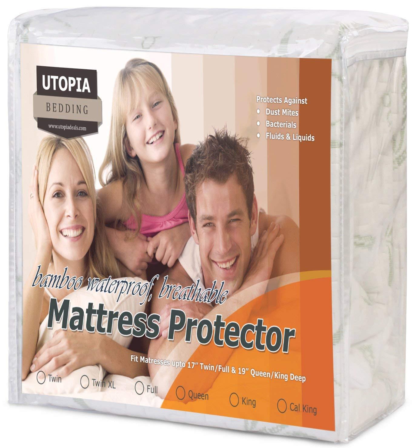 Utopia Waterproof Mattress Protector
