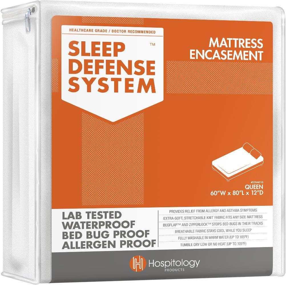 Sleep Defense System Waterproof Mattress Protector