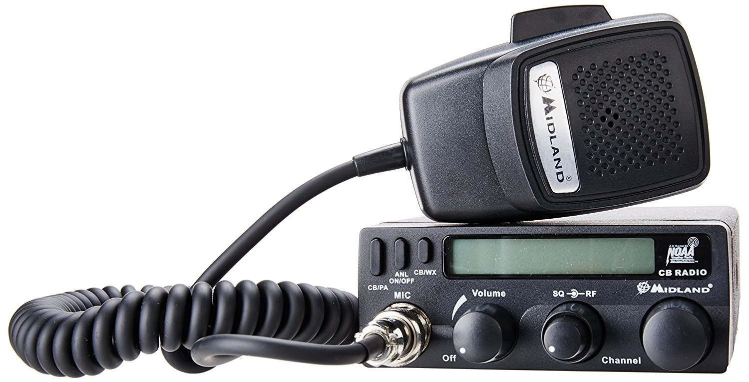 Midland 40 Channel Handheld CB with ANL, 1001LWX