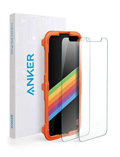 Anker GlassGuard iPhone X/ XS Screen Protector [2-Pack]