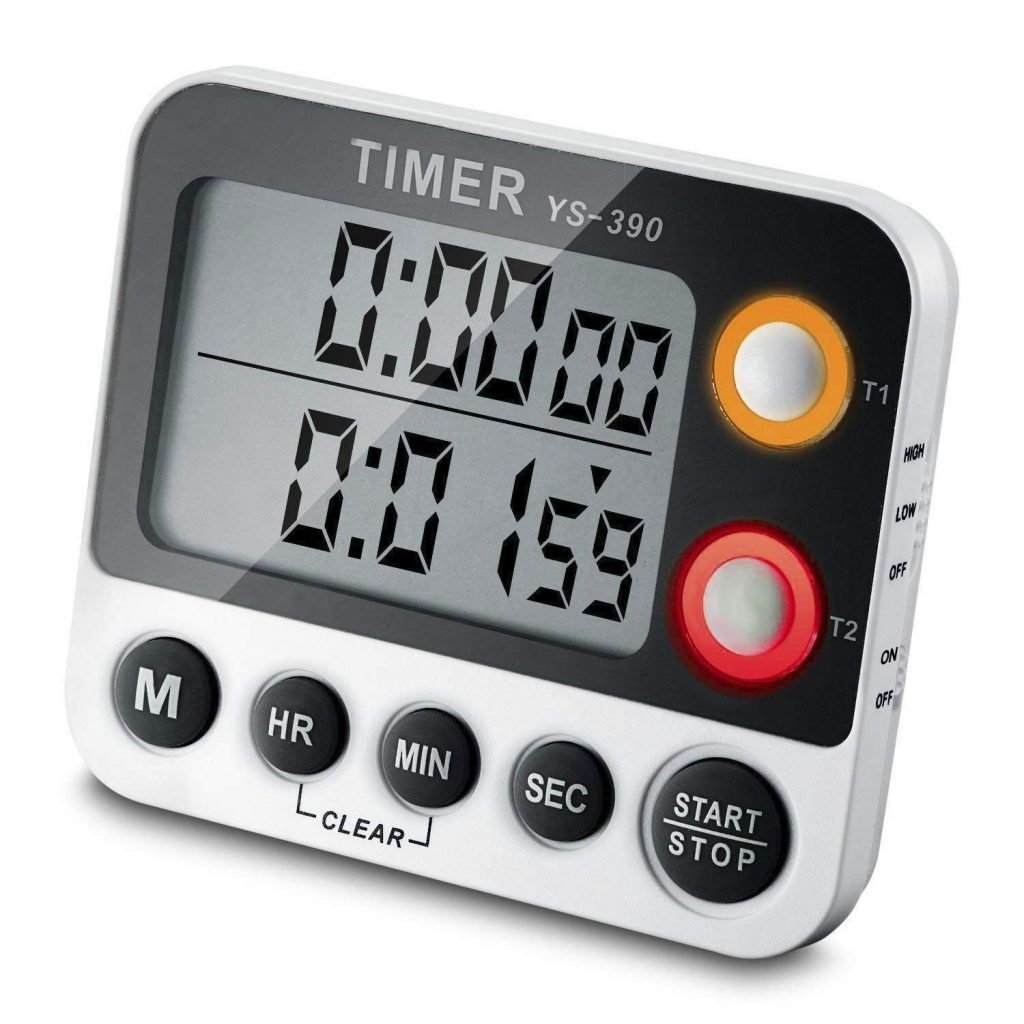EMDMAK 100-Hour Dual Count Workout Timer