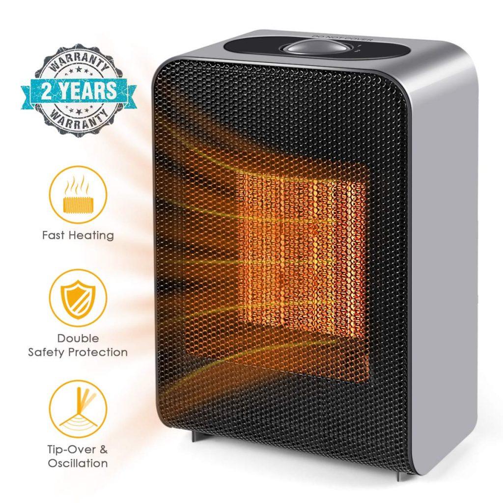 UOKOO Ceramic Space Heater