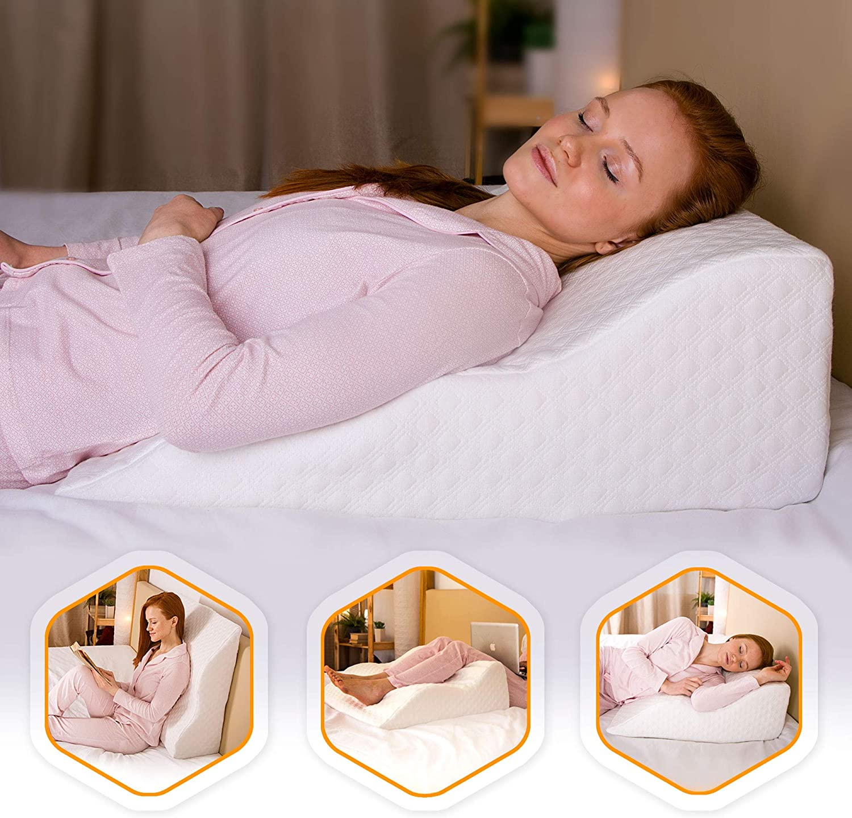 AERIS Wedge Pillow for Acid Reflux