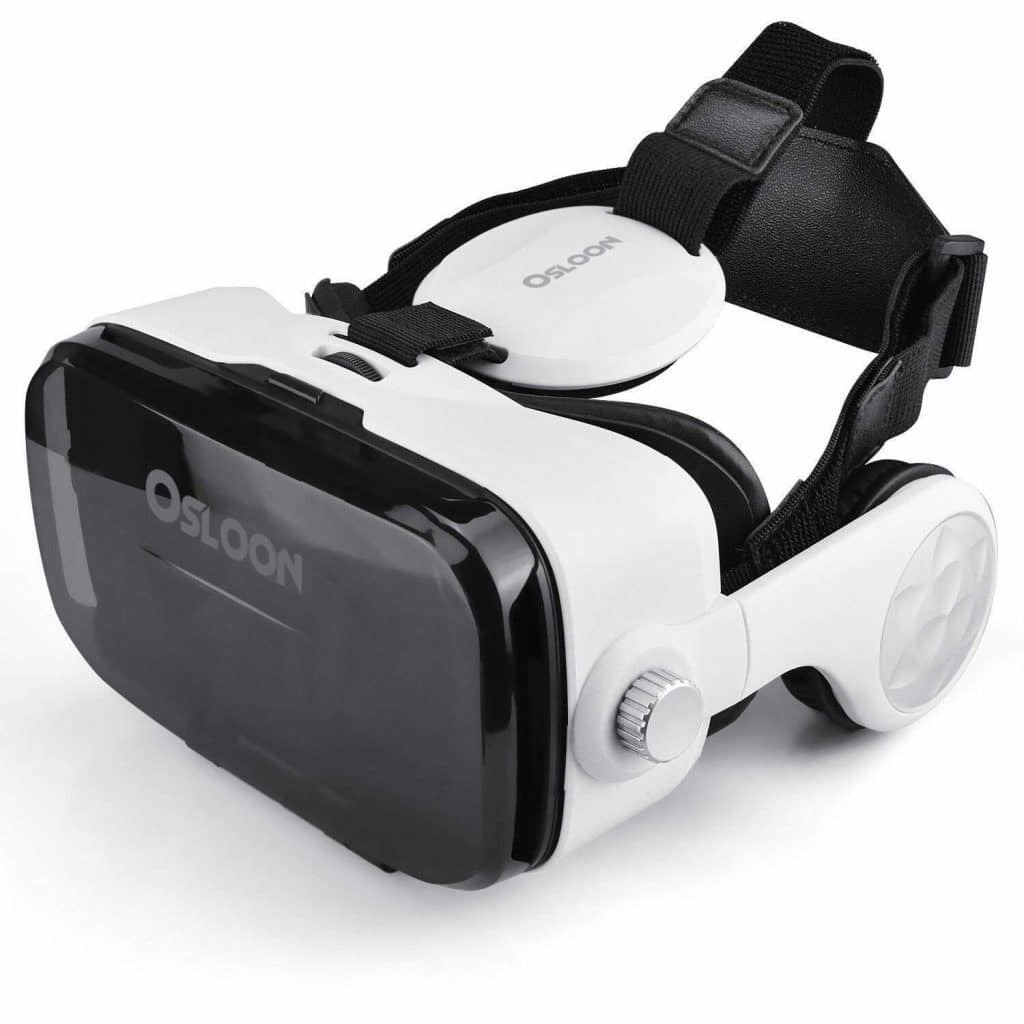 Virtual Reality Headset,Osloon 3D VR Glasses w/Stereo Headphone