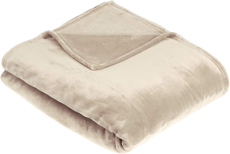 Pinzon Velvet Plush Throw Blanket