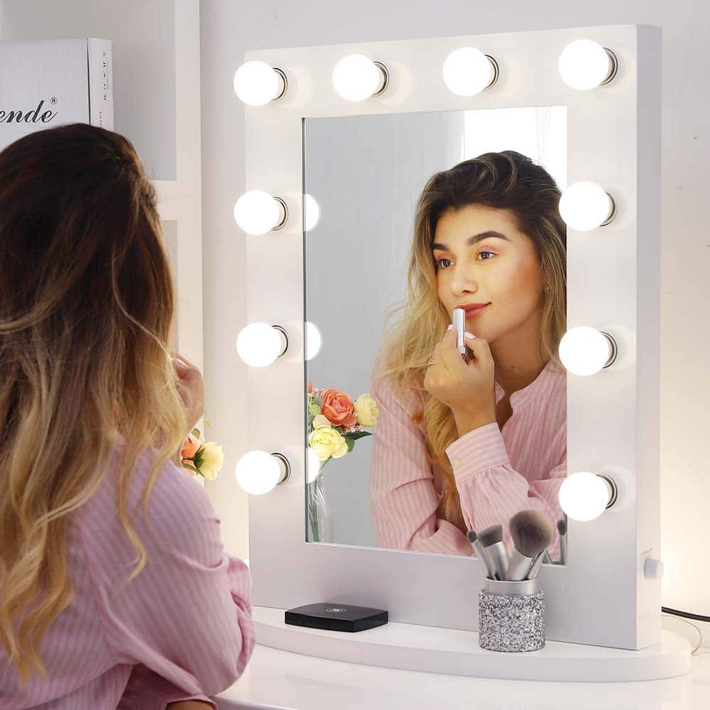 Chende Hollywood Makeup Vanity Mirror with Lights