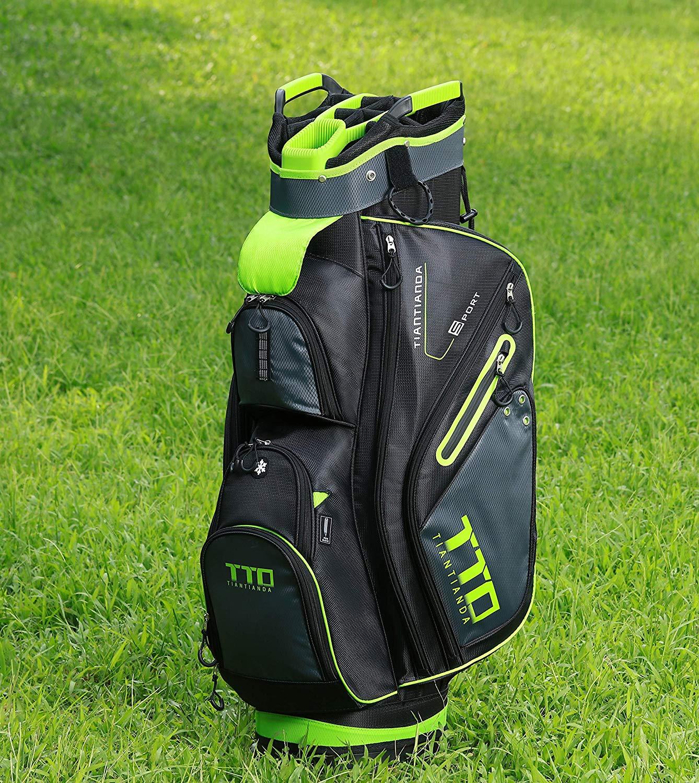 TTD TIANTIANDA 10 Pocket Golf Cart Bag