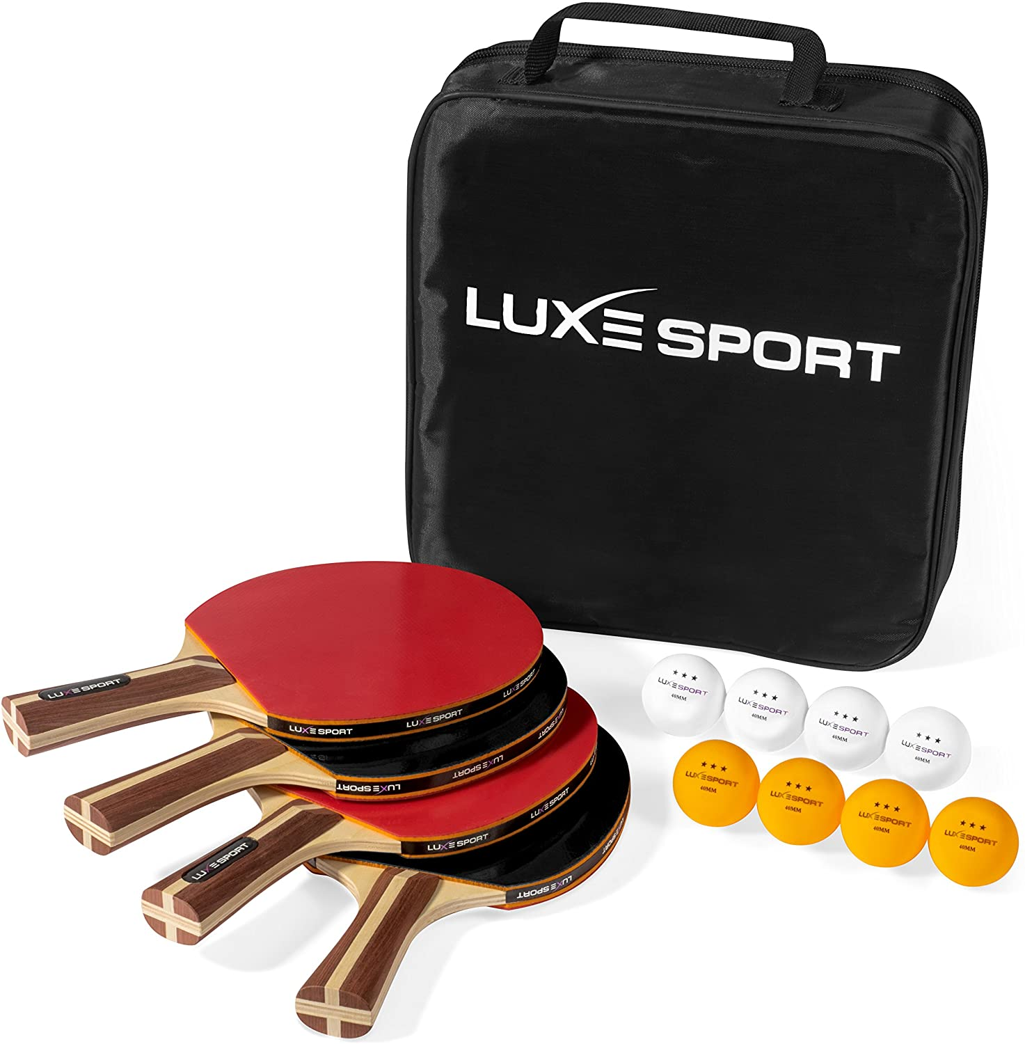 Luxe Sport Ping Pong Paddle Set