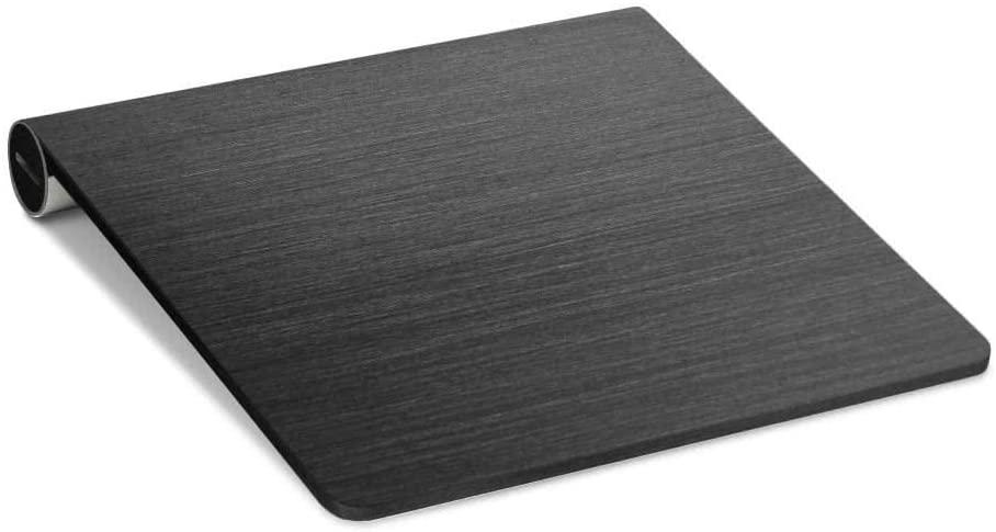 PimpSkins Apple Magic Trackpad 1 Ski Decal – Brushed Black Metallic