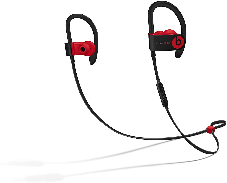 Power Beats Resistant W1 Black Red Wireless Headphone