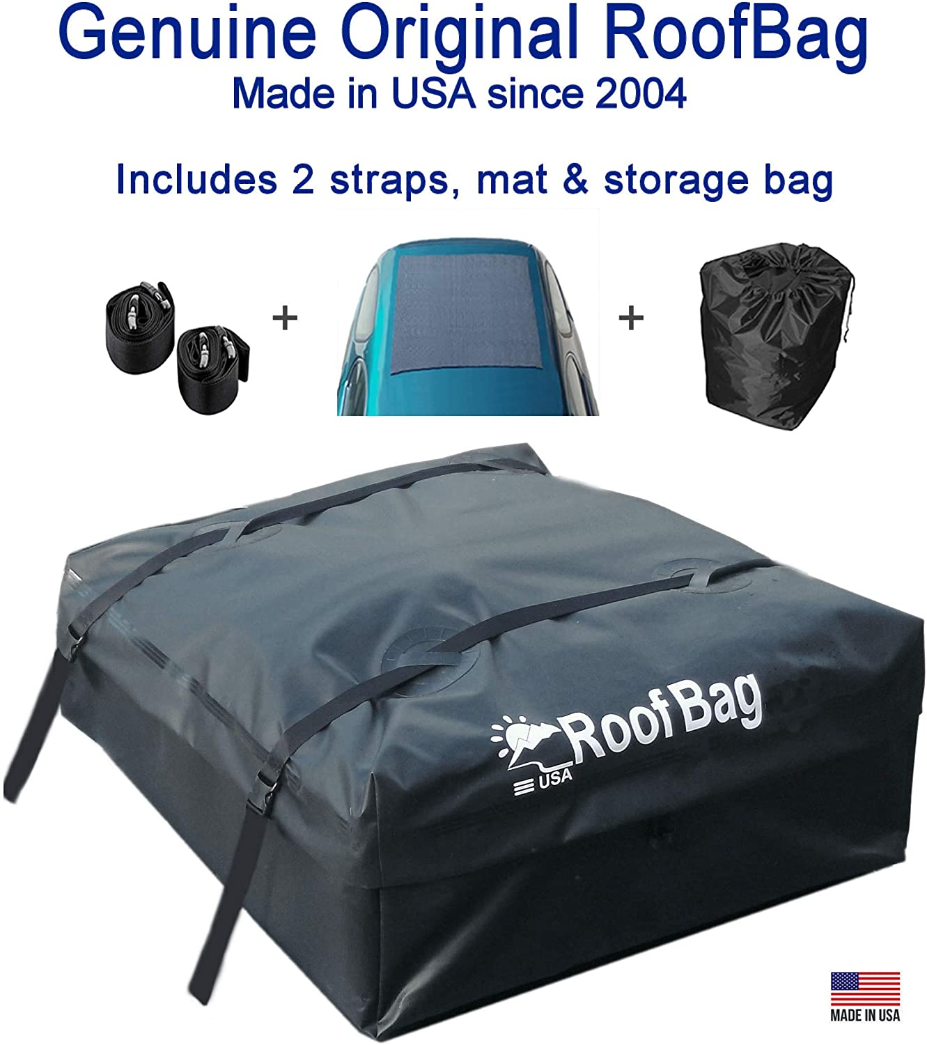 RoofBag 15 Cubic ft Roof Top Cargo Carrier