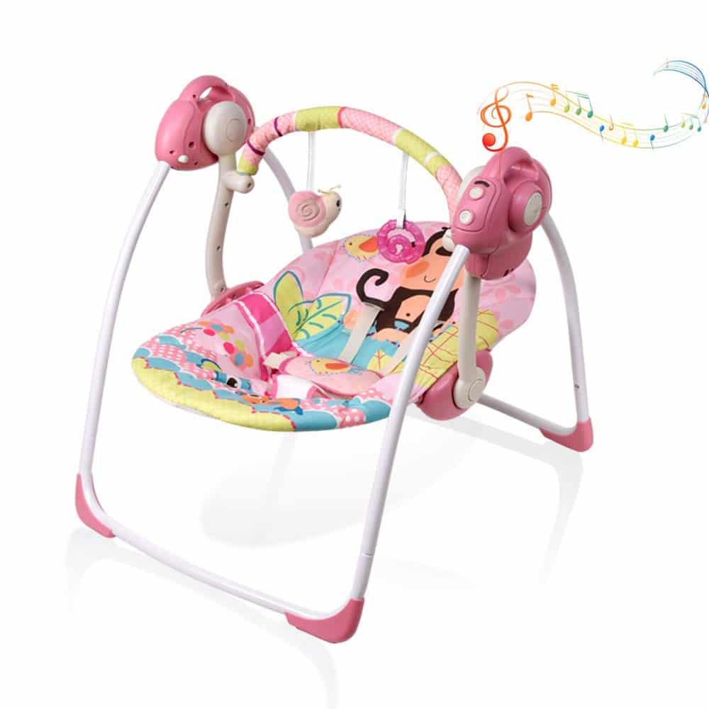 VASTFAFA Soothing Portable Swing