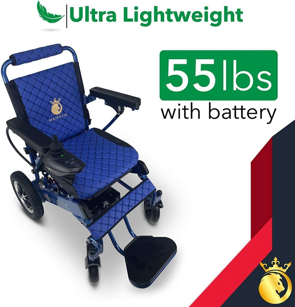 """2021 Limited Edition Electric Wheelchair Mobility Aid Lightweight Motorized Power Wheelchairs (17.5"""" Wide)"""