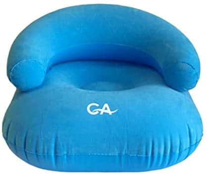 Comfort Axis Heavy Duty Inflatable Flocking Chair