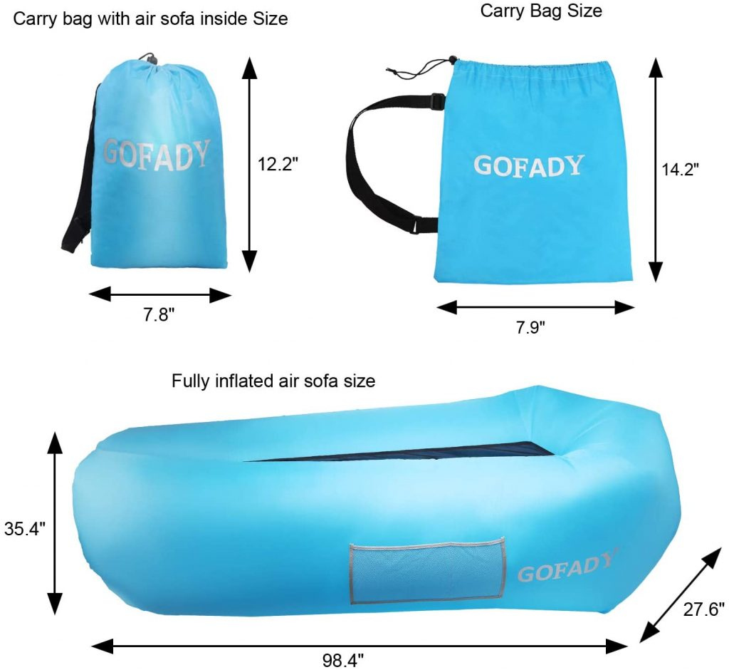 Gofady Inflatable Air Lounger