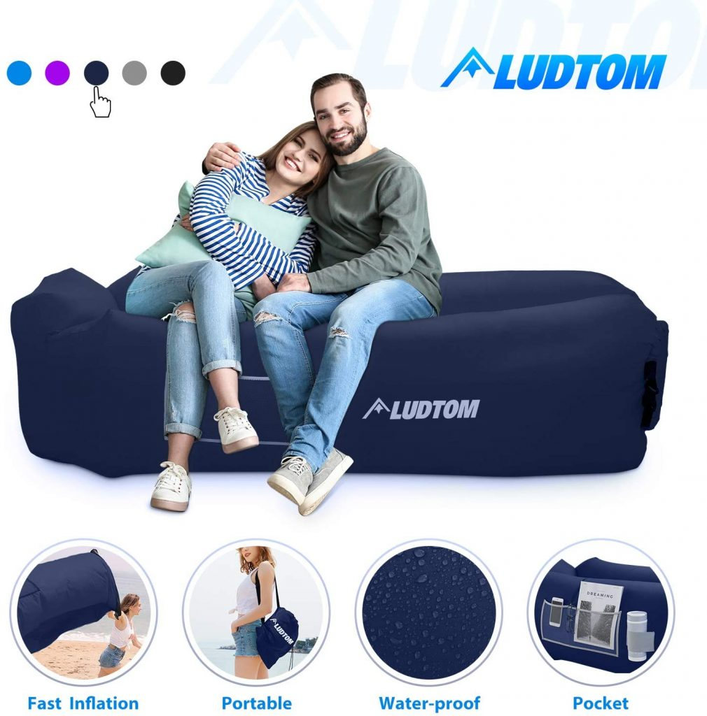LUDTOM Inflatable Lounger Air Sofa