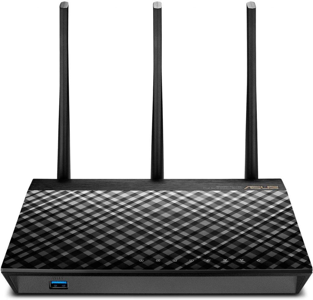 ASUS RT-AC66U B1 AC1750 Dual-Band Wi-Fi Router