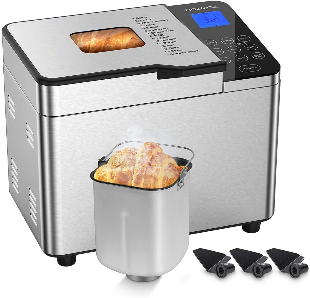 Rozmoz Pro Bread Machine with Homemade Function