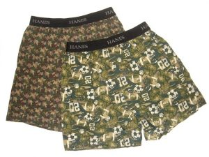 1. Hanes Boys Knit Boxer; 2 Pack