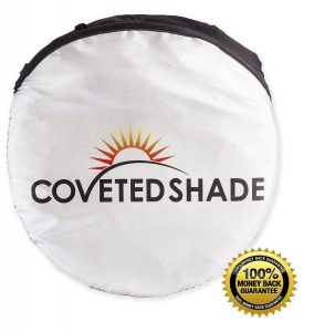6. Coveted Shade Car Jumbo Windshield Sunshade