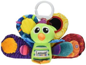 1. Lamaze Jacques the peacock