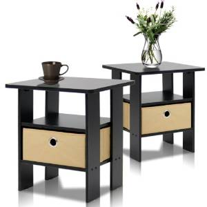 10. Furinno 2-1115EX End Table