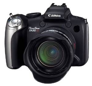 6. Canon Powershot SX20IS 12.1 MP