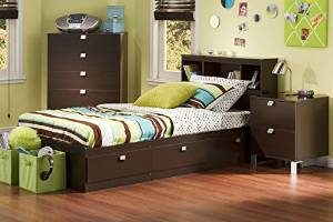 7. South Shore Cakao Kids 3-Piece Bedroom Set