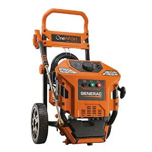 9. Generac 6602 OneWash 3 Gas Powered Pressure Washer