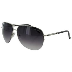 5. Kenneth Cole Reaction Semi Rimless Style Aviator Sunglasses