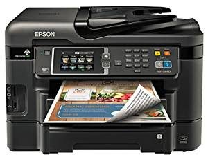 #8. Epson WorkForce WF-3640 Wireless Printer