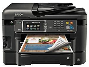 #8. Epson WorkForce WF-3640 Wireless Printer