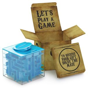 #1. Money Maze Puzzle Box