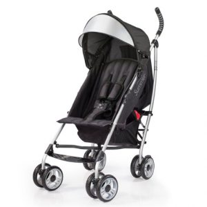 #3. Summer Infant 3Dlite Baby Stroller
