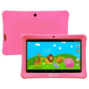 #4. Contixo Kids Safe Quad Core Tablet