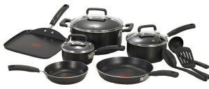 #1. T-falC530SC Cookware Set