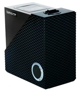 10. Luma Comfort HCW10B Cool and Warm Mist Humidifier