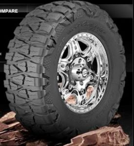 #3. Nitto mud grappler MT tire