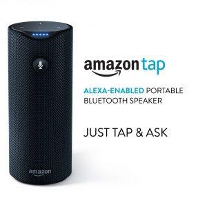 #4. Amazon Tap – Alexa Enabled Bluetooth Speaker, Portable