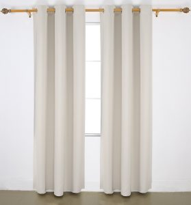 #5. Deconovo blackout curtains
